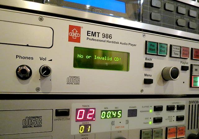 EMT986やEMT982などの試聴記録