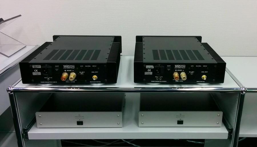 TRIGON TRE 50M 定価¥630,000 (税込) 販売価格198,000. モノラルパワーアンプ