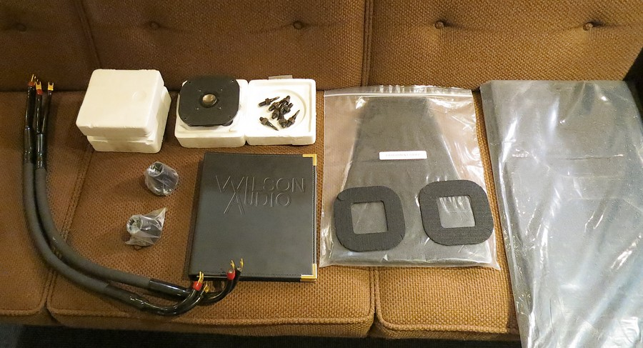 WILSON AUDIO System 5 付属品一部