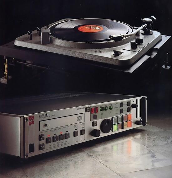 EMT981 CDプレーヤー中古買取り EMT982