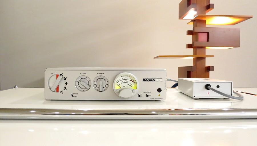 中古 NAGRA PL-L コントロールアンプ。スイス・ナグラ製