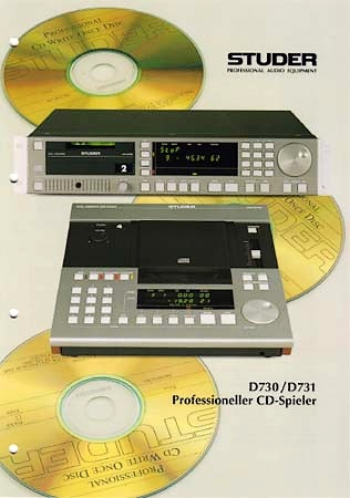studer A730,D730,D731買取り・買取・中古CDプレーヤー