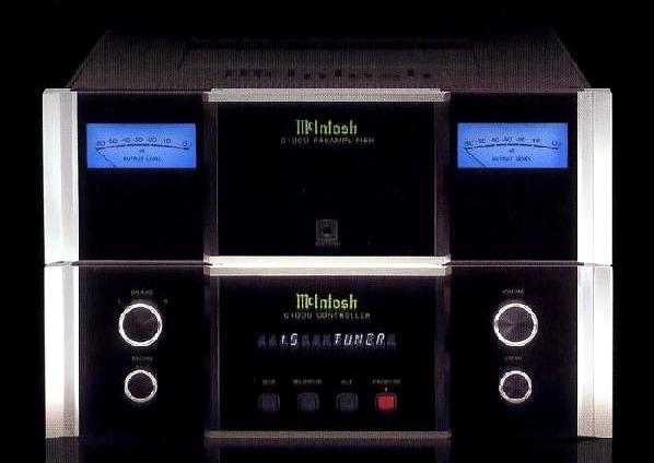 McIntosh コントロールアンプ C1000C+C1000P セパレートプリ2007年
