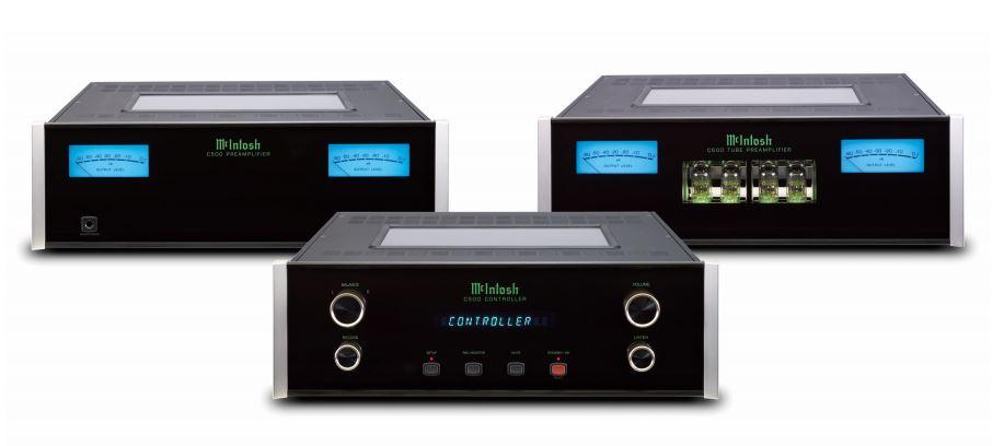 McIntosh コントロールアンプ C500+P500