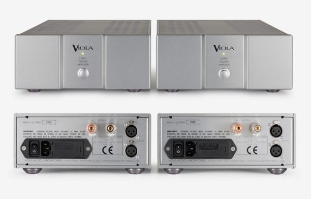 VIOLA  FORTE IIモノラルパワー Monaural Power Amplifier