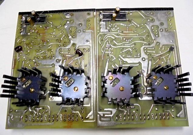 ML-2L オーディオボードのパターン側