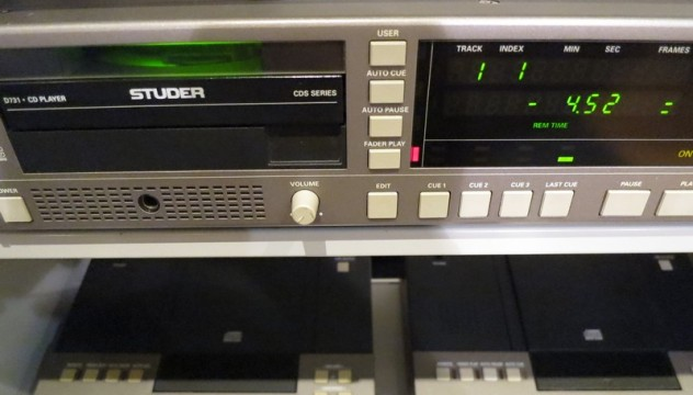 中古STUDER D731 CDプレイヤー