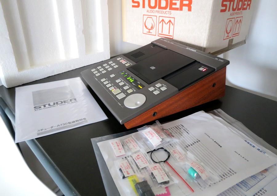 レストア版 STUDER A730 整備・修理