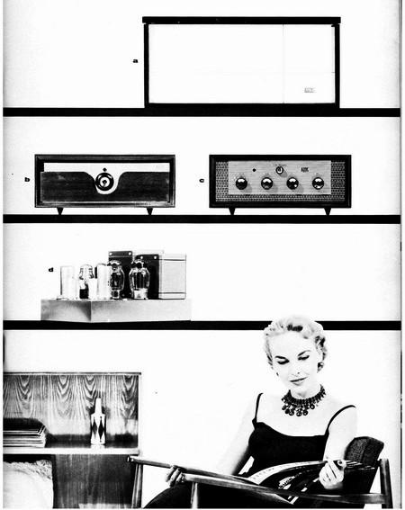 1950年代 altec  カタログ