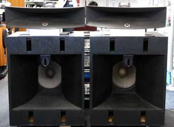 JBL4560BKと2350ホーン。中古ハイエンドオーディオアンプ スピーカー 販売 秋葉原 日本橋 Audio Dripper TOKYO