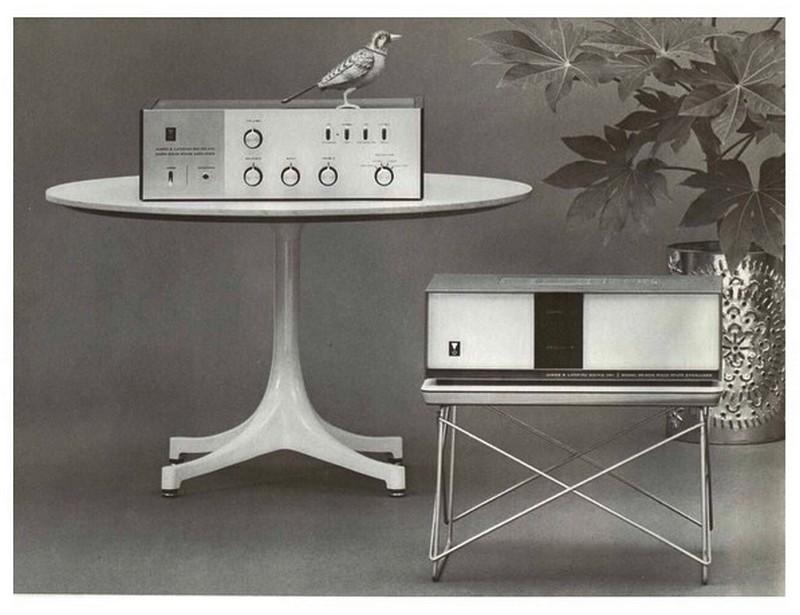 JBL Charles Ormond Eames LTRワイヤーベーステーブル