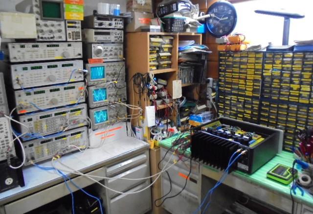 SPECTRAL_DMA-150_RCA_入力スペック点検中