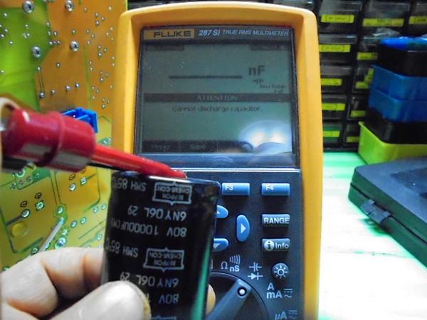 SPECTRAL_DMA-150_の出力の弱い方のコンデンサーは、測定不可_2個目も