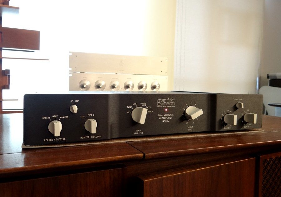 Mark Levinson No.26L BAL preamp
