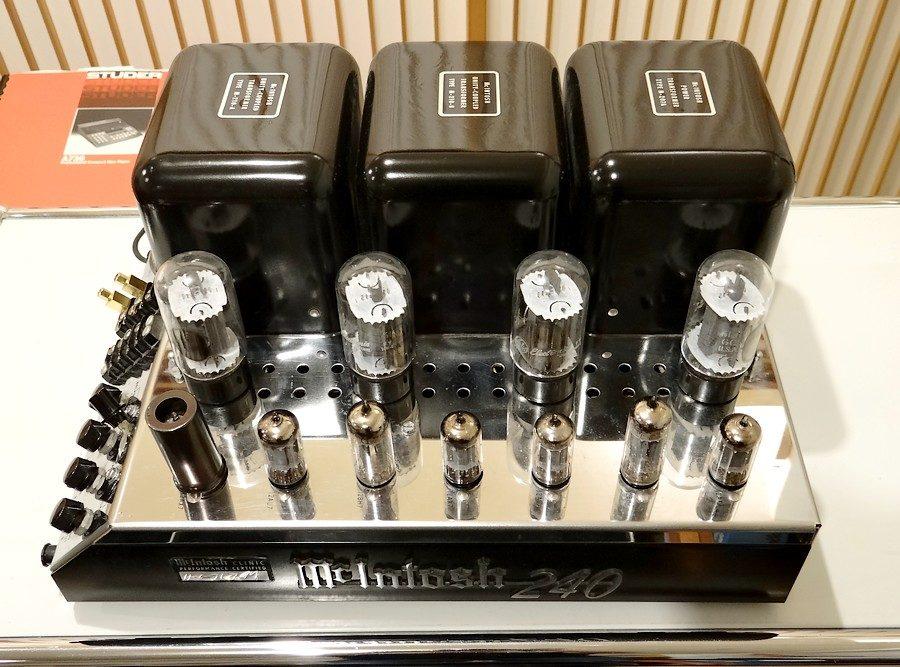 クロムメッキ状態 MC240 power McIntosh