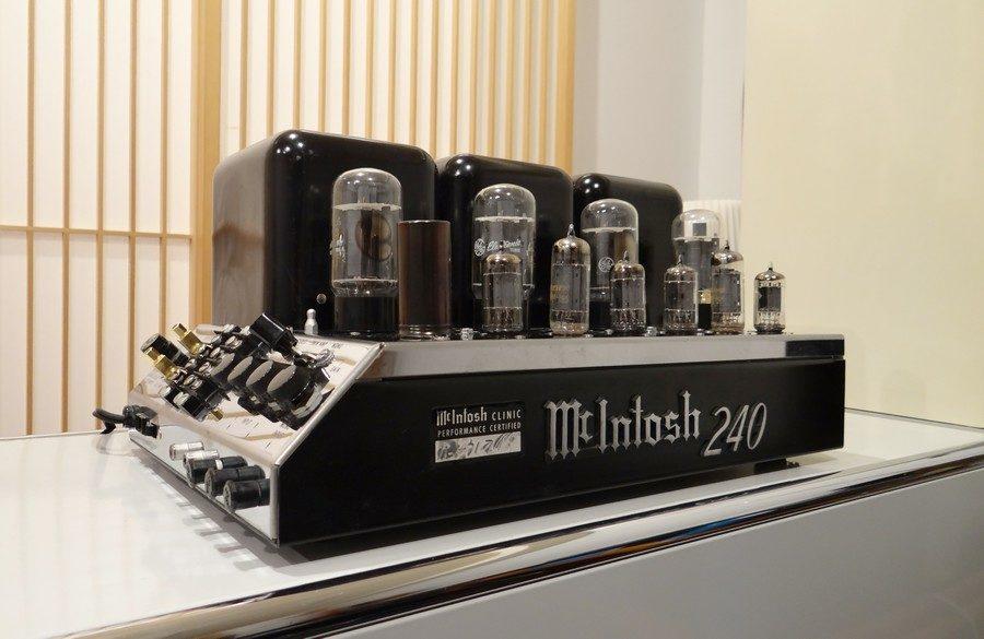 McIntosh MC240パワーアンプ