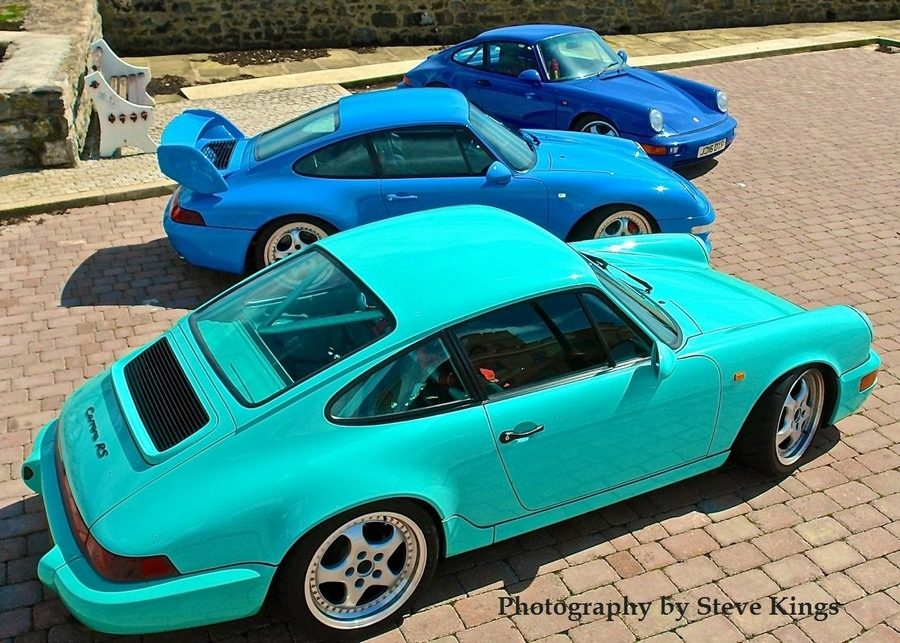 964 Cup car、993RS, 964RS